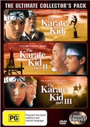 Karate Kid / Karate Kid 02 / Karate Kid 03 - The Ultimate Collector's Pack | Encore | DVD
