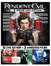 Resident Evil   Franchise Pack   Blu-ray