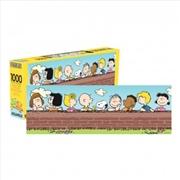 Peanuts Cast 1000 Piece Slim Puzzle | Merchandise