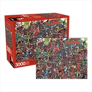 Despicable Deadpool 3000 Piece Puzzle | Merchandise