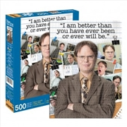 Office - Dwight Schrute Quote 500 Piece Puzzle | Merchandise