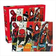 Spider Man Timeline 1000 Piece Puzzle | Merchandise
