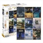 Harry Potter - Travel Posters 1000 Piece Puzzle | Merchandise