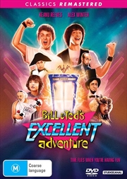 Bill and Ted's Excellent Adventure | Classics Remastered | DVD