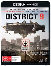 District 9 | Blu-ray + UHD | UHD