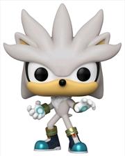 Sonic the Hedgehog - Silver 30th Anniversary Pop! Vinyl   Pop Vinyl