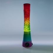 Rainbow Glitter Speaker Lamp | Accessories