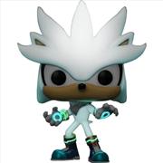 Sonic the Hedgehog - Silver Glow 30th Anniversary US Exclusive Pop! Vinyl [RS]   Pop Vinyl