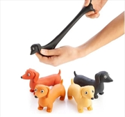 Novelty Stretch Dachshund Sausage Dog Toy (SELECTED AT RANDOM) | Toy