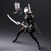 Nier: Automata - YoRHa No.2 Type B Deluxe Play Arts Action Figure | Merchandise