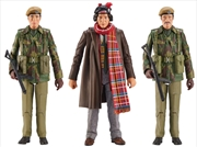Doctor Who - UNIT Terror of the Zygons Action Figure 3-pack | Merchandise
