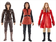 Doctor Who - Fourth Doctor Companions Action Figure 3-pack | Merchandise