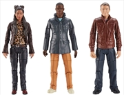 Doctor Who - Thirteenth Doctor Companions Action Figure 3-pack | Merchandise