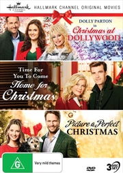 Hallmark Christmas - Christmas At Dollywood / Time For You To Come Home For Christmas / Picture A Pe | DVD
