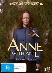 Anne With An E - Season 3 | DVD