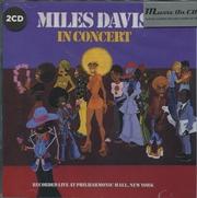 Miles Davis In Concert   CD