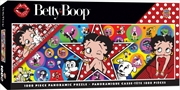 Licensed Panoramic Betty Boop 1000 Piece Puzzle: | Merchandise