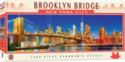 Panoramic Brooklyn Bridge NYC1000 Piece Puzzle | Merchandise
