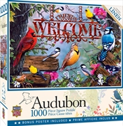 Audubon Perched 1000 Piece Puzzle | Merchandise