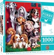 Furry Friends Sitting Pretty 1000 Piece Puzzle | Merchandise