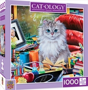 Catology Einstein 1000 Piece Puzzle | Merchandise