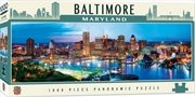 City Panoramic Baltimore 1000 Piece Puzzle | Merchandise