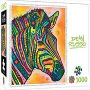 Dean Russo Stripes Mccalister 1000 Piece Puzzle | Merchandise