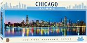 City Panoramic Chicago 1000 Piece Puzzle | Merchandise