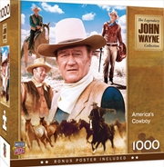 John Wayne America's Cowboy 1000 Piece Puzzle | Merchandise