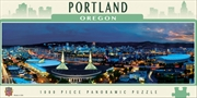 City Panoramic Portland 1000 Piece Puzzle | Merchandise