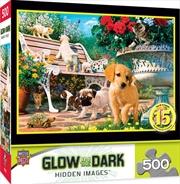 Hidden Image Glow Afternoon 500 Piece Puzzle | Merchandise