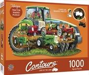 Contours Shaped Tractor Shape 1000 Piece Puzzle | Merchandise