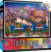 Colorscapes Las Vegas Living 1000 Piece Puzzle | Merchandise