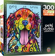 Dean Russo Dog Is Love Ez Grip 300 Piece Puzzle | Merchandise