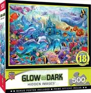 Hidden Image Glow Sea Castle 500 Piece Puzzle | Merchandise