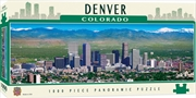 Colorado Panoramic Denver 1000 Piece Puzzle | Merchandise