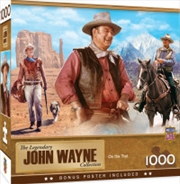 John Wayne On The Trail 1000 Piece Puzzle | Merchandise