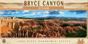 Panoramic Bryce Canyon Utah 1000 Piece Puzzle | Merchandise