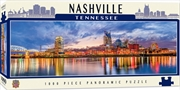 Panoramic Nashville Tennessee 1000 Piece Puzzle | Merchandise