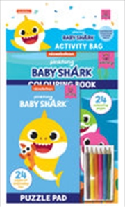 Baby Shark: Activity Bag | Colouring Book