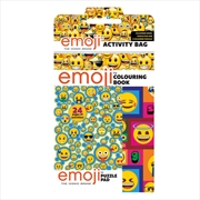 Emoji: Activity Bag | Colouring Book