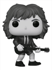 AC/DC - Back in Black Black & White US Exclusive Pop! Album [RS] | Pop Vinyl