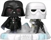 Star Wars - Darth Vader & Stormtrooper US Exclusive Pop! Deluxe Diorama [RS]   Pop Vinyl