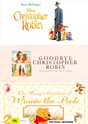 Christopher Robin / Goodbye Christopher Robin / The Many Adventures Of Winnie The Pooh   DVD
