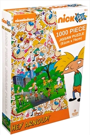Hey Arnold! - Park 1000 piece Jigsaw Puzzle | Merchandise