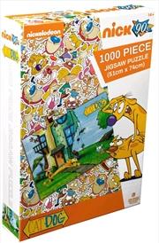 Catdog - Yard 1000 piece Jigsaw Puzzle | Merchandise