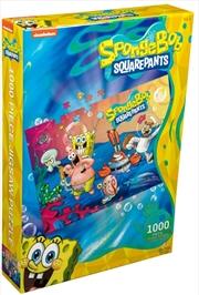 SpongeBob SparePants - Cast 1000 piece Jigsaw Puzzle | Merchandise