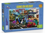 Funbox Puzzle Going On Holiday Puzzle 1000 pieces | Merchandise