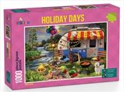 Funbox Puzzle Holiday Days Caravanning Puzzle 1000 pieces | Merchandise