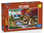 Funbox Puzzle Perfect Places the Cabin Puzzle 1000 pieces   Merchandise